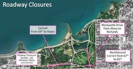 proposed road closures
